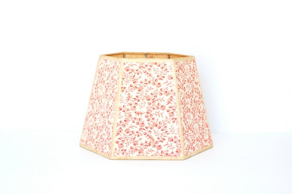 Floral Vintage Lamp Shade