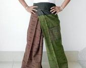 Fisherman Pants 3/4 length, 100% Cotton.