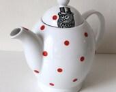 Dapper Owl teapot