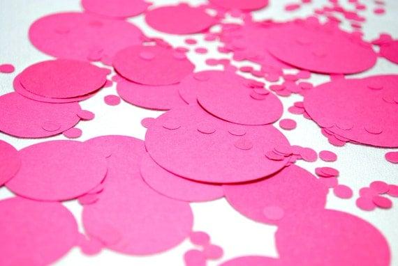 Hand-cut Confetti