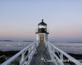 Marshall Point Lighthouse, 5x7 Fine Art Photography, Maine Photography - CindiRessler