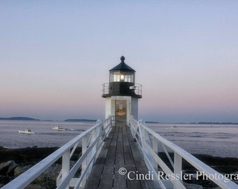 Marshall Point Lighthouse, Photography, Maine Photography, Landscape Photography