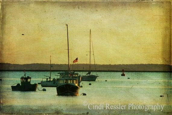 Fishing Boats, Fine Art Photography, Landscape Photography, Nautical Photography, Maine Photography