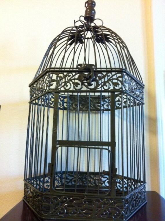 RESERVED FOR JACKIE- Birdcage Cardholder