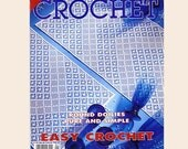 Decorative Crochet Pattern Magazine Number 43 January 1995