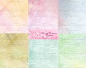 ILLUMINATING Digital Scrapbooking Paper-- Six 12x12 Unique Papers 300 DPI Perfect for EASTER