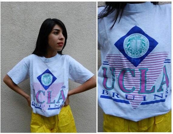 80s UCLA Classic T Shirt - Retro Preppy College Tee - LA