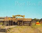 Vintage Postcard Buckskin Joe