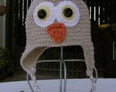 Newborn Owl Hat - 0 - 3 months