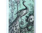 Peacock iPhone 4 case iPhone 4s case in Peppermint Color hard case