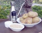 Recipe sesame potatoes