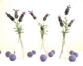 Lavender Wedding Garland, Bunting Banner Decoration Purple French Country Garden Shabby Cottage Chic Bride Cake Table Photo Prop