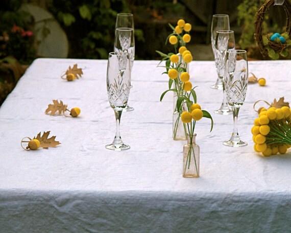 Wedding Flowers, 100 Custom Wedding Flowers, Craspedia Billy Button Balls for your wedding table decoration