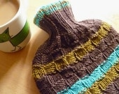 Knitted Hot Water Bottle Cover - Made to Order