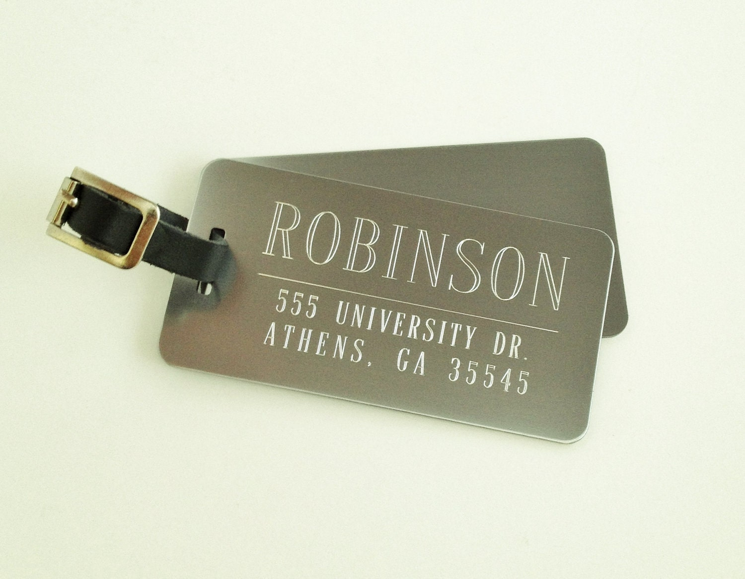Personalized Luggage Tags Set of Two