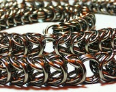 Mens heavy stainless steel byzantine box chain necklace chain mail