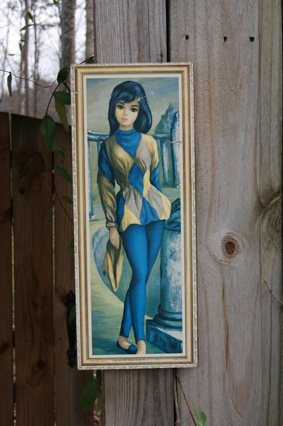MAIO 60's Harlequin Print