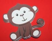 Monkey Die Cuts 3 inches (15)