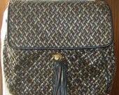 Vintage Leather Ganson Purse by CJW