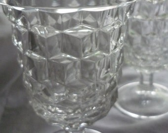 Set of Two American Fostoria Goblet 4 Available