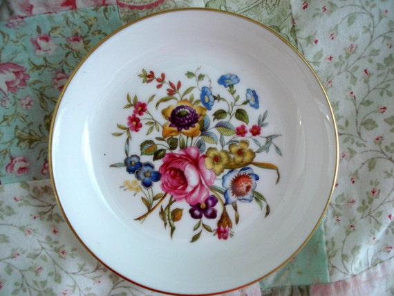 Vintage Royal Worcester China Ashtray Made In England