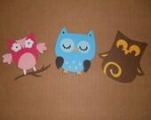 Cute Owl Die Cuts