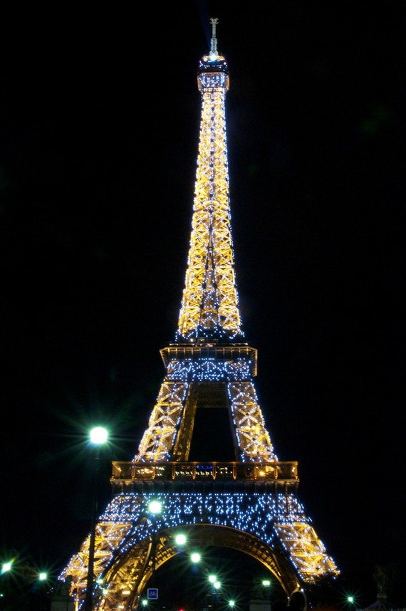 Items similar to lighted eiffel eiffel tower paris for Art decoration france