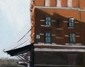 "Original Oil Painting - ""Peerless"" - 4"" x 7"""