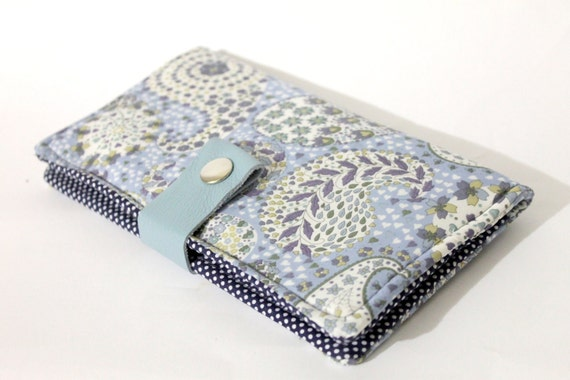 Bifold fabric wallet, Liberty of London fabric purse