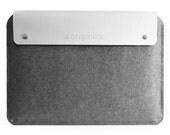 """Mujjo 13"""" Macbook Pro Sleeve White"""