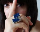 Duo Lapis-lazuli Ring