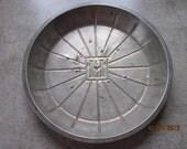 Vintage Metal Pie Tin - Lloyd J. Harris