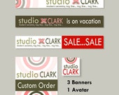 ADD-ON : Matching Etsy Banner set, avatar and place holder