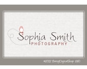 Personalized Premade logo for small businesses or photographers - No 260