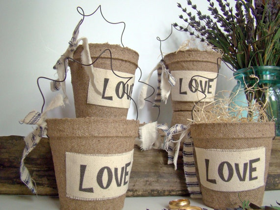 Rustic Wedding Favor Bag, Party Favor, Bridal Shower, Barn Wedding