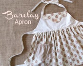 Barclay - Kitschy Apron PDF Pattern.  Child sewing pattern. Toddler Pattern. All Sizes 2-8 Included
