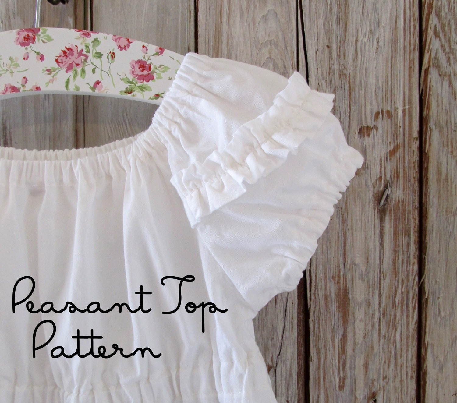 Peasant Blouse Pattern Baby 18
