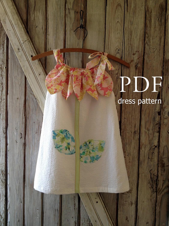 Sunny Flower Pillowcase Dress Pattern Tutorial Girl S