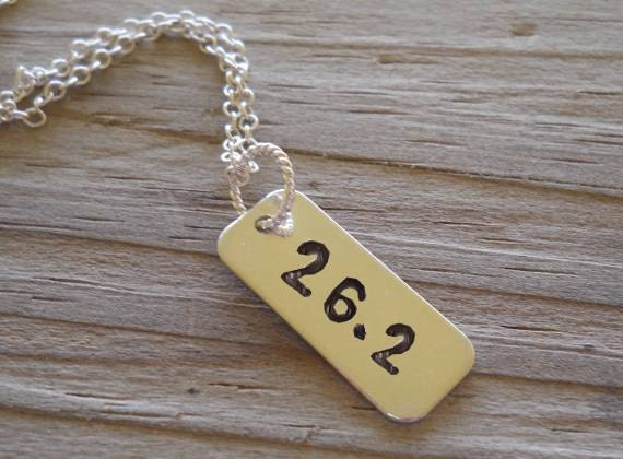 Marathon necklace....Born to Run........... WOW.... If you can run a Marathon or a 1/2 ..... You Derserve This.