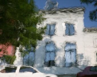 reflective house