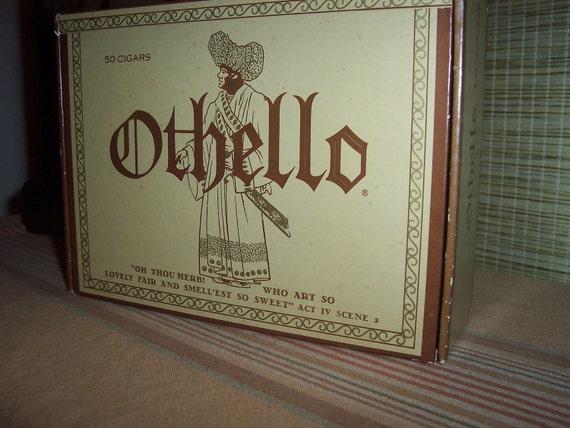 Vintage 'Othello' Cigar Box