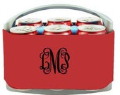 Set of 7 6pk Neoprene Coolers  These make great Groomsmen's Gifts