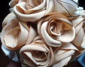 SALE*** Peggy's Cove Fabric Rose Bouquet