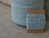 Bakers Twine 25 Yards - Green and White
