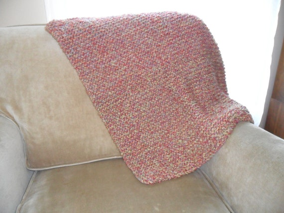 SALE - red baby blanket