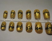 One Ring to Rule Them All False Nails Art Set LOTR