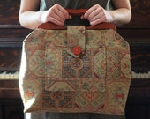 Tapestry Knitting Bag- Ready to Ship NEW SALE PRICE