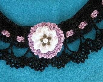 Victorian Necklace Crocchet Pattern