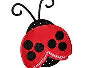 Ladybug Applique Embroidery Design