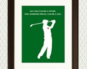 CHRISTMAS GIFT or Father's Day Gift for Dad or Grandfather - Golfer for Fathers Day, Grandparents Day, Christmas, Birthday - Mothers Day